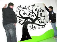 Fitting Tree Wall Sticker